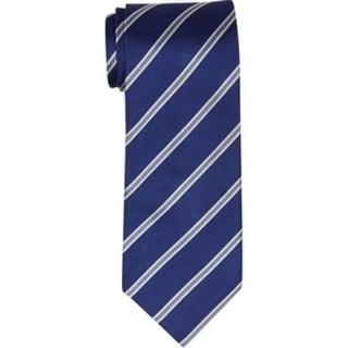 Twin Hill Mens Tie Cobalt 100% Silk Four-in-hand
