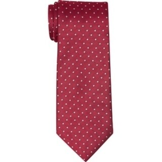 Twin Hill Mens Tie Red 100% Poly Four-in-hand