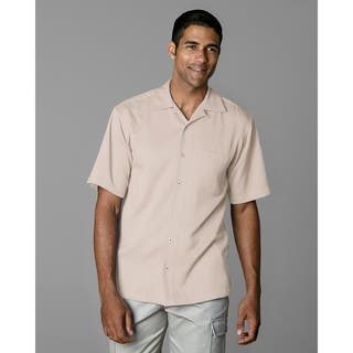 Twin Hill Mens Camp Shirt Driftwood Recycled Poly|https://ak1.ostkcdn.com/images/products/17813826/P24006895.jpg?impolicy=medium