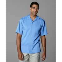 Twin Hill Mens Camp Shirt Slate Blue Recycled Poly