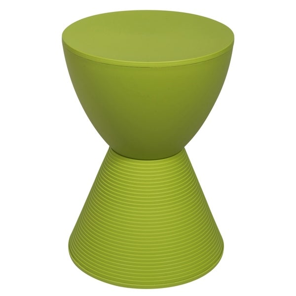 LeisureMod Modern Boyd Round Green Side Table. Opens flyout.