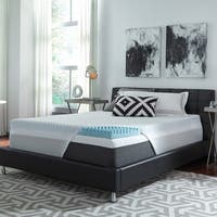 ComforPedic Loft from Beautyrest 2-inch Reversible Highloft NRGel Topper with Kool Knit Cover