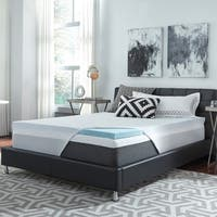 ComforPedic Loft from Beautyrest 3-inch NRGel Flat Topper with Kool Knit Cover