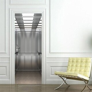 3D Elevator Door Wall Mural Wallpaper Removable Stickers for Home Decoration Wall Vinyl