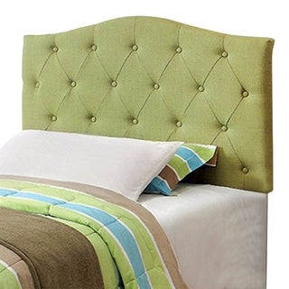 Alipaz Contemporary Twin Headboard, Green