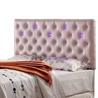 Aldebaran Contemporary Style Pink Headboard