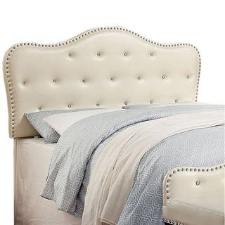 Gwenyth Contemporary Headboard, Ivory Finish|https://ak1.ostkcdn.com/images/products/17816246/P24008694.jpg?impolicy=medium