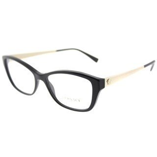 Versace Cat-Eye VE 3236 GB1 Woman Black Frame Eyeglasses