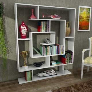 "Beverly 49"" x 59"" x 9"" Modern Bookcase"