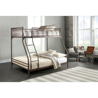 Hillsdale Furniture Brandi Twin/Full Bunk Bed, Oiled Bronze