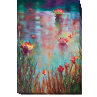 Garden Reeds by Donna Young Gallery-Wrapped Canvas Giclee Art