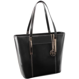 McKlein USA Deva Leather Tote with Tablet Pocket