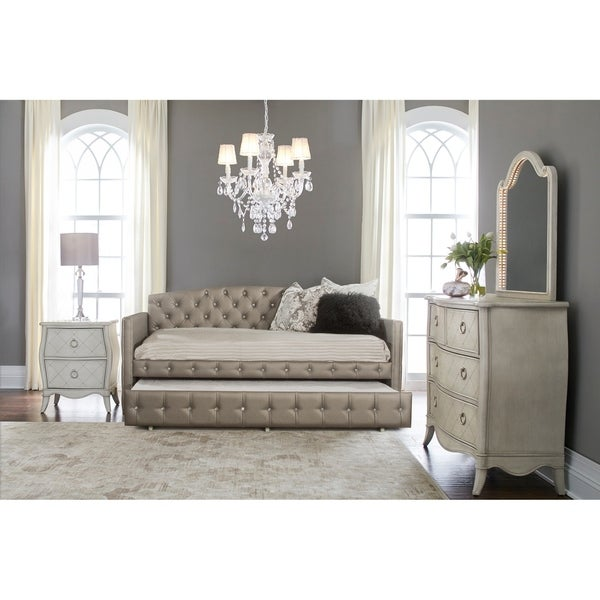 Shop Hillsdale Furniture Memphis Daybed with Trundle , Pewter - Free ...