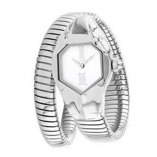 Just Cavalli Women's Quartz Stainless Steel Double Wrap Bracelet Watch