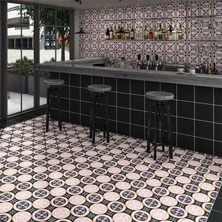 SomerTile 9.75x9.75-inch Oban Lesvos Porcelain Floor and Wall Tile (16/Case, 11.11 sqft.)