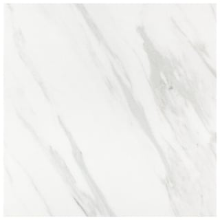 SomerTile 9.75x9.75-inch Marmol Carrara Porcelain Floor and Wall Tile (16 tiles/11.11 sqft.)