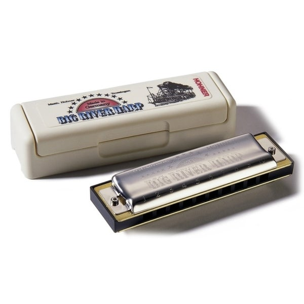 Hohner Big River Harmonica Boxed Key Of Bf
