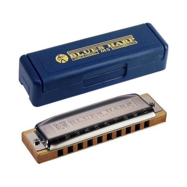Hohner Blues Harp MS Modular System Diatonic Harmonica, E-major