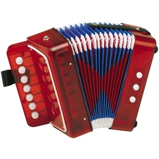Hohner Kids UC102R - Toy Accordion - Red
