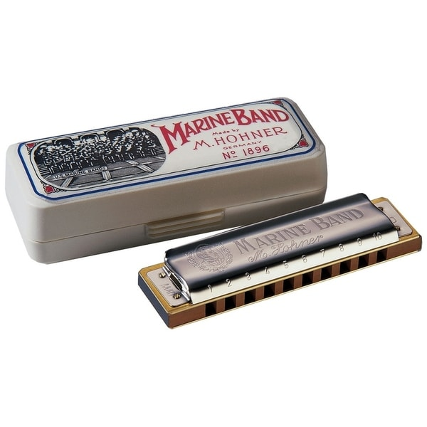 Hohner Marine Band Diatonic Harmonica - Key of Bb Major