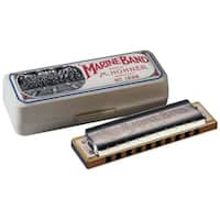 Hohner Marine Band Diatonic Harmonica - Key of Natural D Minor