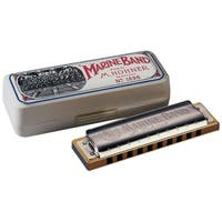 Hohner Marine Band Diatonic Harmonica - Key of Natural B Minor