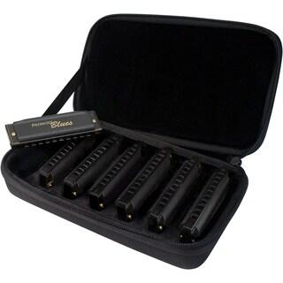 Hohner Piedmont Blues Harmonica Set - 7-Pack