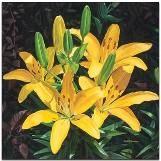Yellow Lilies - contemporary