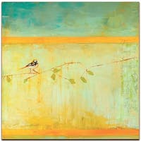 Bird with Horizontal Stripes - contemporary