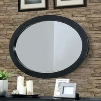 Lennart Ii Black Oval Wall Mounted Mirror