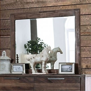 Hankinson Rustic Natural Tone Mirror - Brown