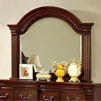 Grandom Traditional Style Mirror , Cherry