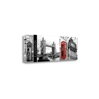 A Glimpse Of London By Jeff Maihara,  Gallery Wrap Canvas
