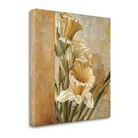 Champagne Daffodils II By Linda Thompson,  Gallery Wrap Canvas