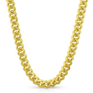 Authentic 14k Yellow Gold 5mm Solid Miami Cuban Curb Link Thick Necklace Chain 20 30 Men Women In Style Designz