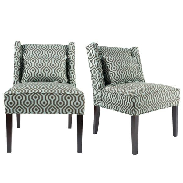 Shop Nolani Modern Fabric BISTROLE Upholstered Slipper