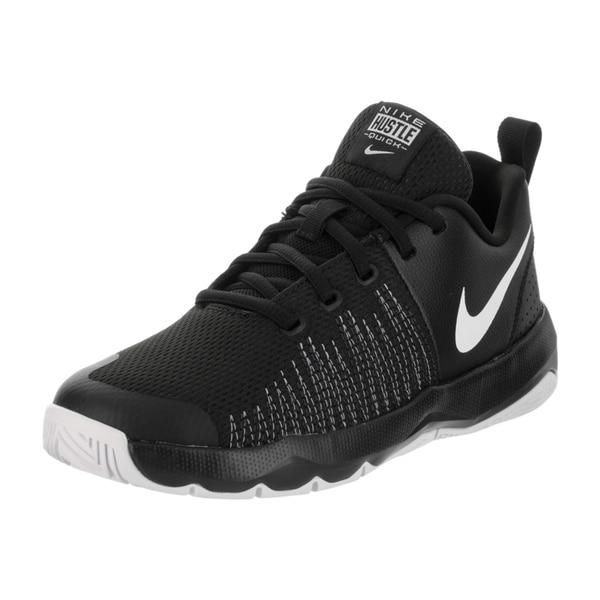 ff963cd49426 Shop Nike Kids Team Hustle Quick (GS) Basketball Shoe - Free ...