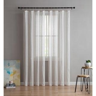 VCNY Home Shaina Sheer Curtain Panel Pair