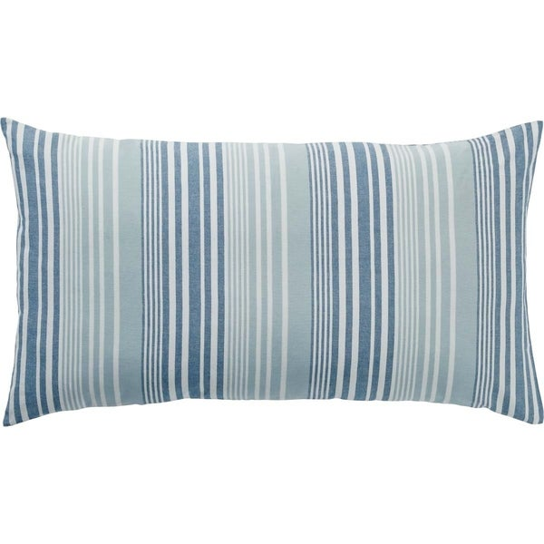 Coastal Two-Tone Stripe Sham