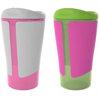 BPA-Free Grow with Me Girl 10-ounce Big Kid Spoutless Cup (Pack of 4)