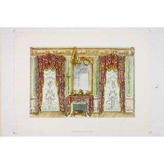 19th Century Interior Designs Le Garde-Meuble VIII Premium Art Print