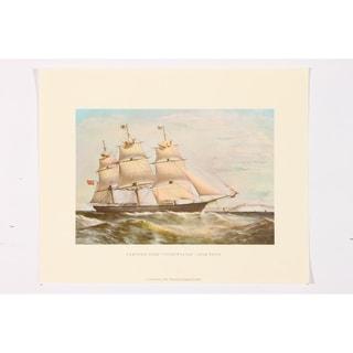 Clipper Ship Swiftsure 1326 Tons premium Art Print of Sailboat Art
