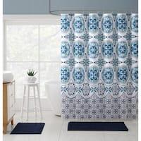 VCNY Home Medallion Boho Shower Curtain