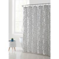 VCNY Palma Kissing Pleat Shower Curtain