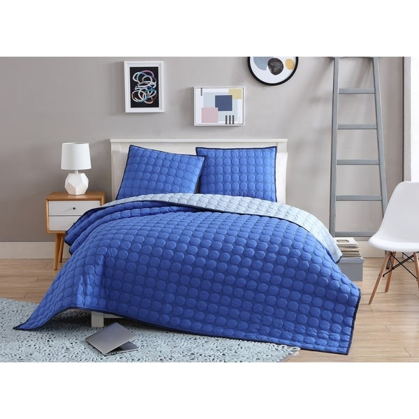 VCNY Home Charlie Reversible Coverlet Set