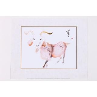 The Goat Wall Art Print by Zeng Shanqing