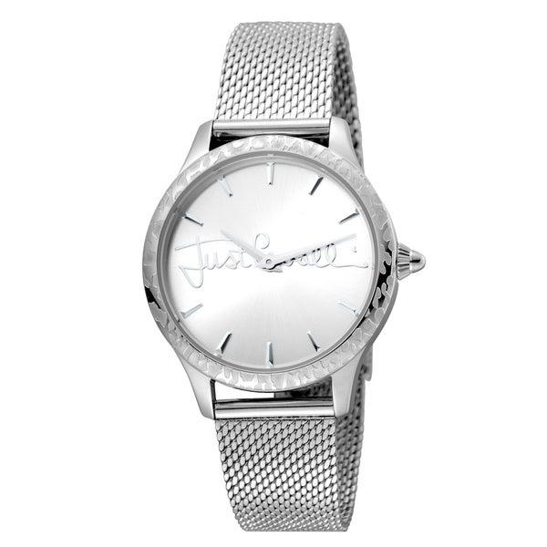 Shop Just Cavalli Women s Quartz Stainless steel Mesh Band Watch ... ae0165c8b4