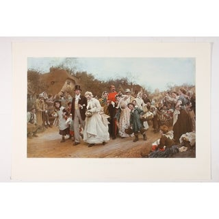 A Village Wedding Fine Art Print