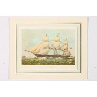 Ethiopian Ship 838 Tons Premium Art Print