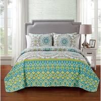 VCNY Home Pina 3-piece Quilt Set